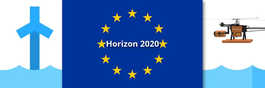 AERO-SensorCopter Offshore Horizon 2020 EU Funding Windenergy DroneService