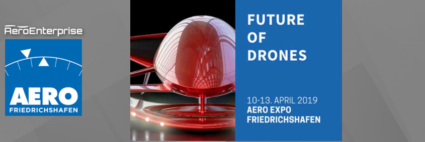 AERODrones EXPO Friedrichshafen Germany Exhibition Drones Aviation