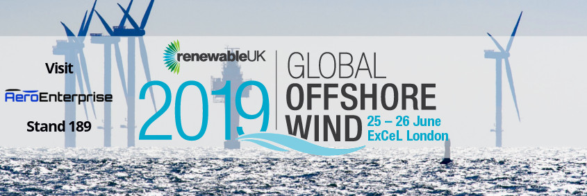 Global Offshore Wind London Exhibition Windturbines UK