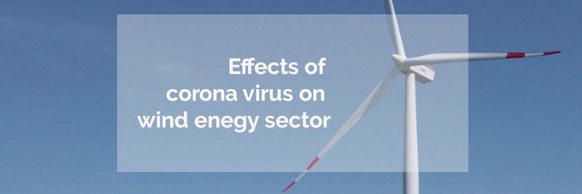 Effects corona on wind energy